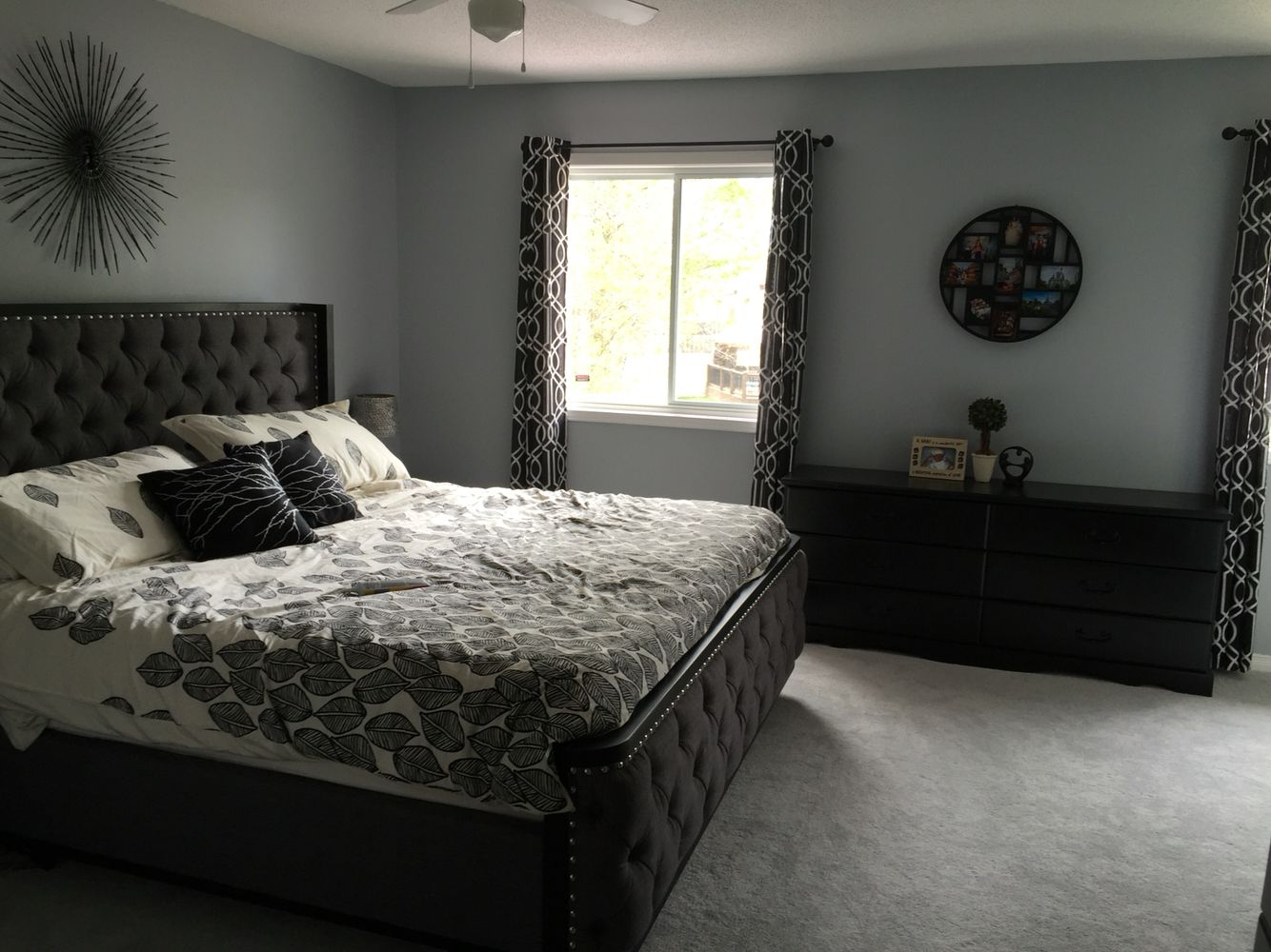 swire grey bed grey timberwolf paint benjamin moore new house