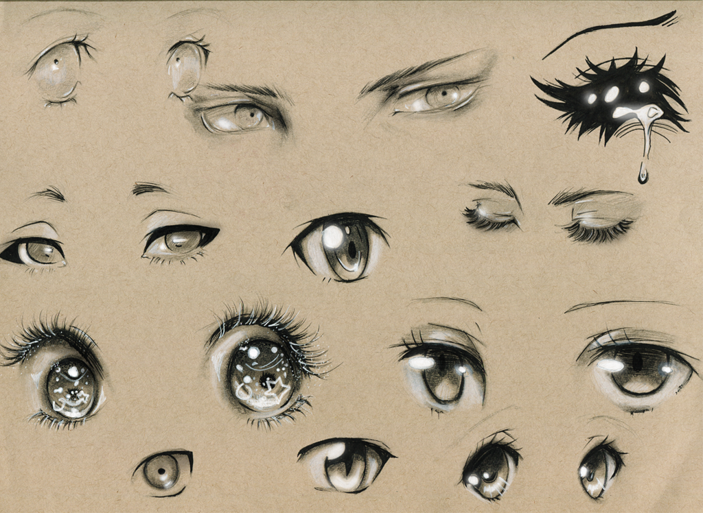 Eye Studies 2 by on deviantART