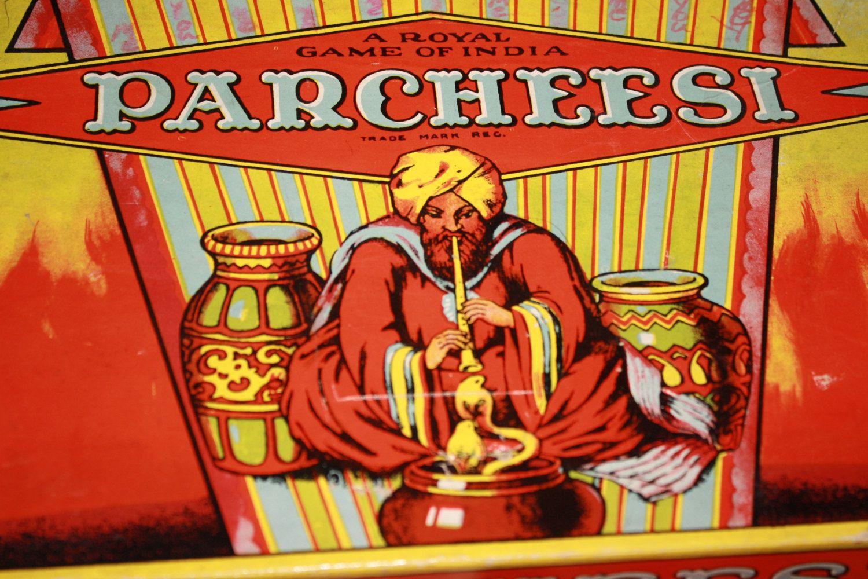 Parcheesi Game. $8.00, via Etsy.
