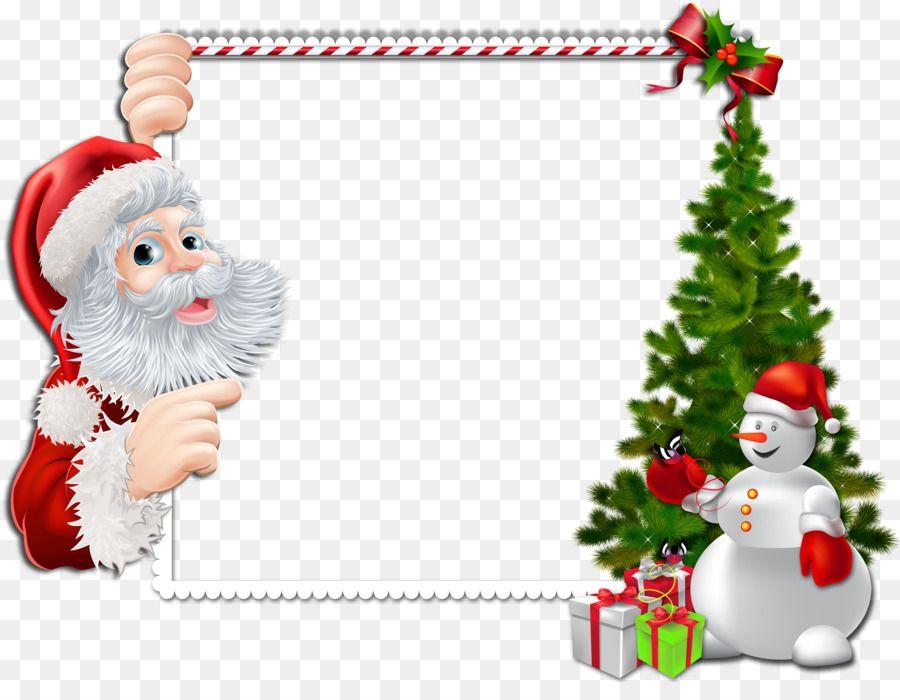 Santa Claus Frontieres Et Les Cadres De Noel Cadres Photo Clip Art Noel Image Cliparts Christmas Picture Frames Free Christmas Borders Christmas Frame Png