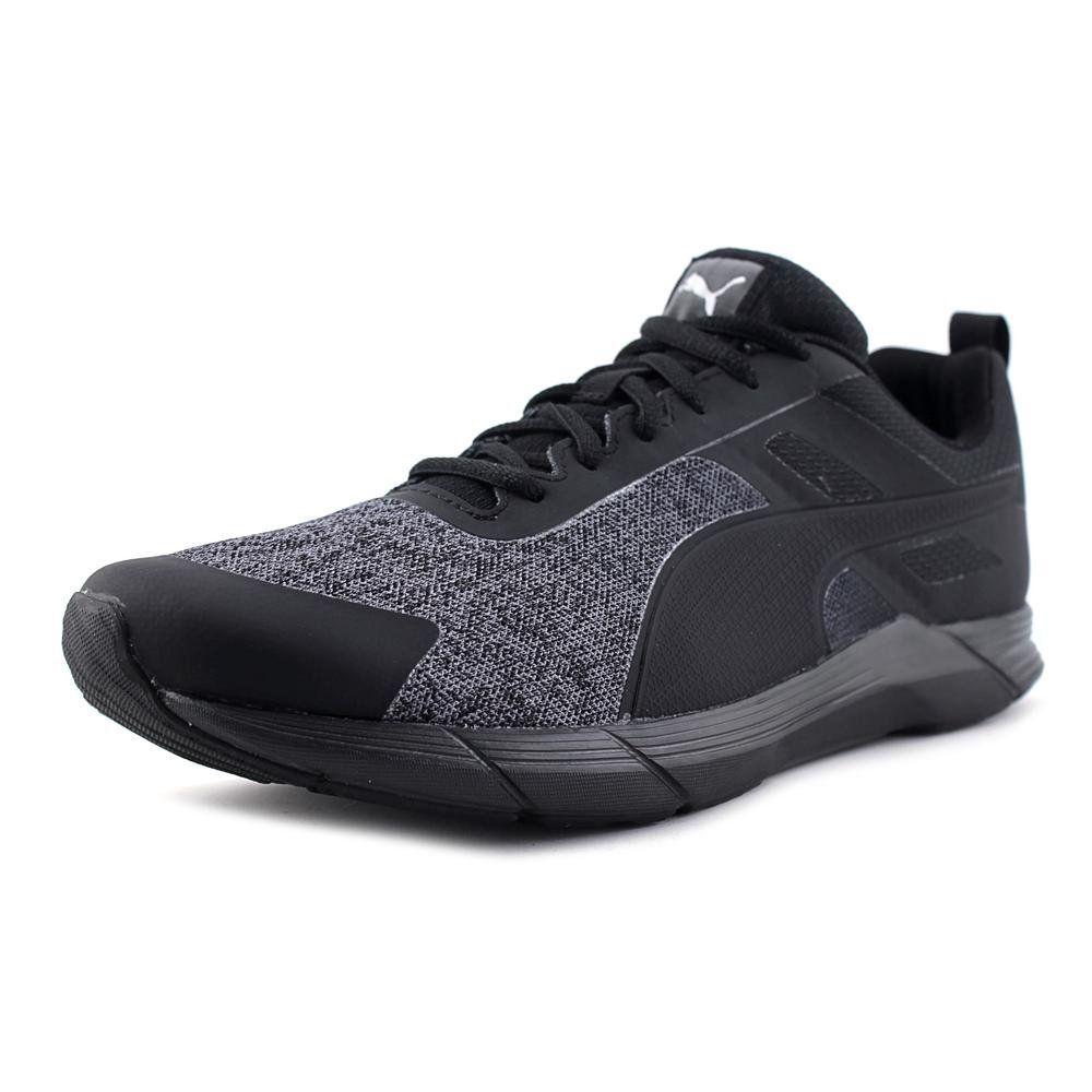 PUMA Men's Propel Heather Cross-Trainer Shoe, Puma Black/Puma Silver, 7