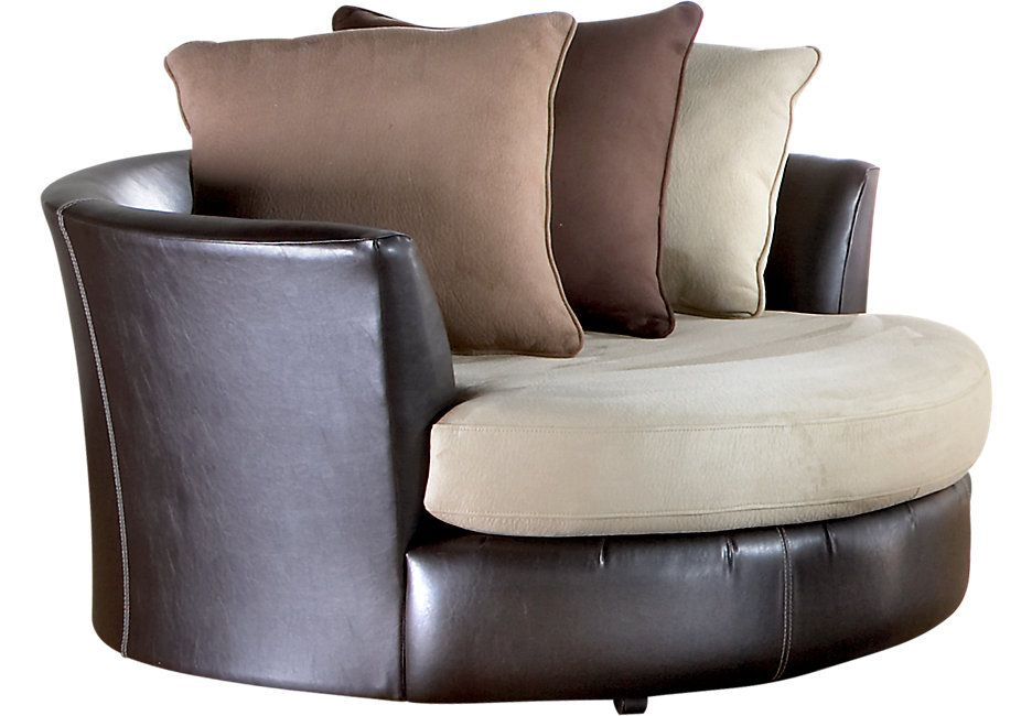 Gregory Beige Swivel Chair Chairs Beige Big Comfy Chair Affordable Furniture Stores Affordable Chair #round #swivel #living #room #chairs