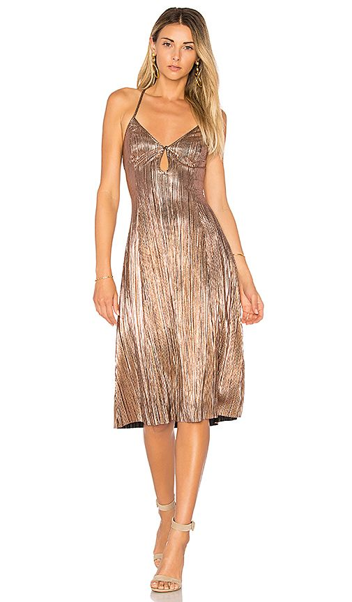 Shop for House of Harlow 1960 x REVOLVE Heidi Dress in Rose Gold at  REVOLVE. Free 2-3 day shipping and returns d75259d8f162