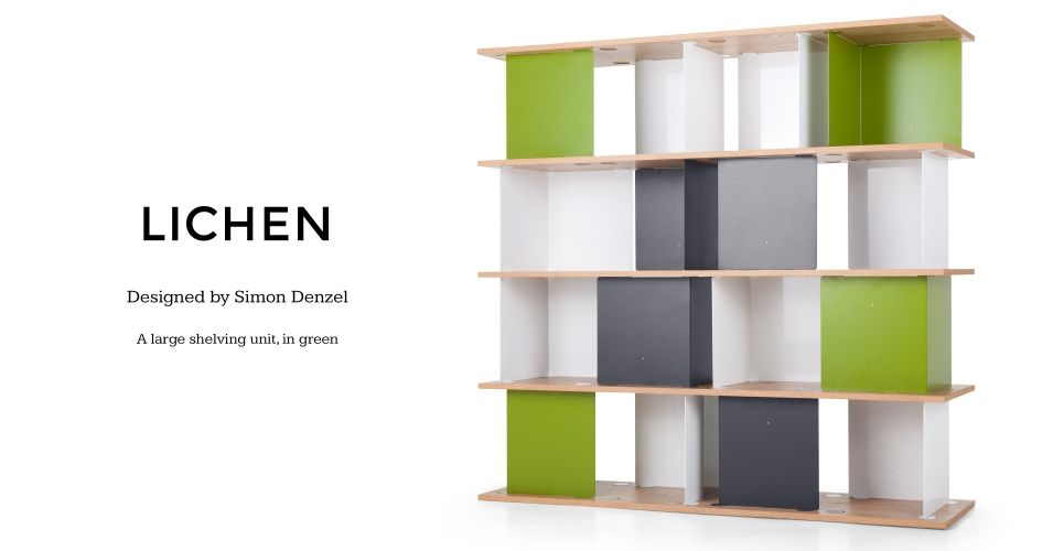 Lovely Truly Innovative Design Seamlessly Combines Style With Practicality, Just  Like The Lichen Large Modular Shelves In Multicolour.