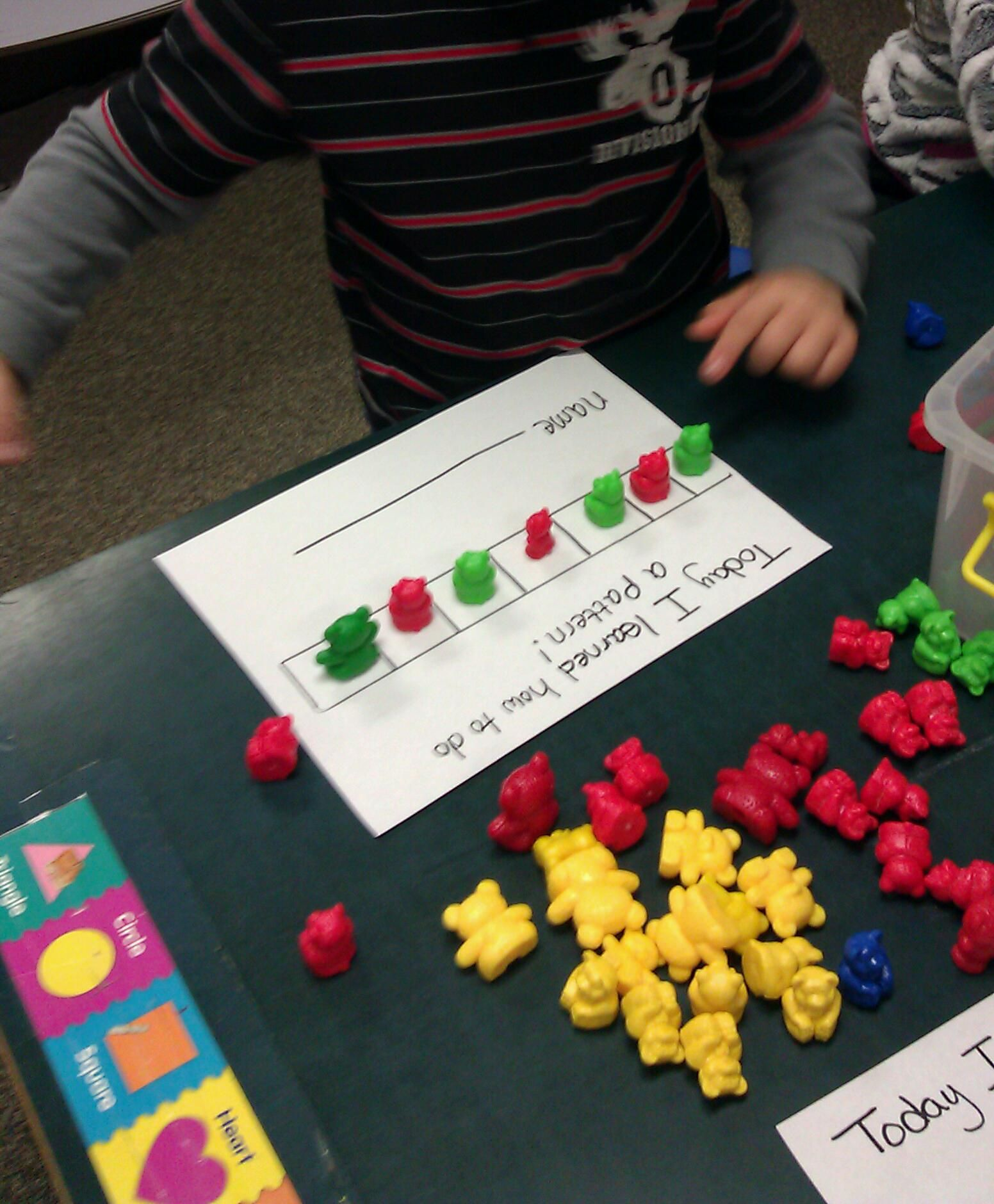 Ab Pattern With Bear Counters Math For Kids Preschool Math Math Activities [ 1880 x 1552 Pixel ]