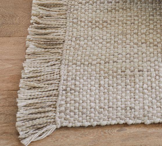 Kian Eco-Friendly Indoor/Outdoor Rug - Khaki | Pottery ...
