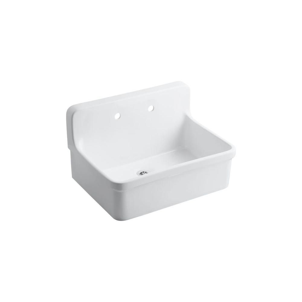 Kohler gilford 30 x 22 in wallmount utility and laundry