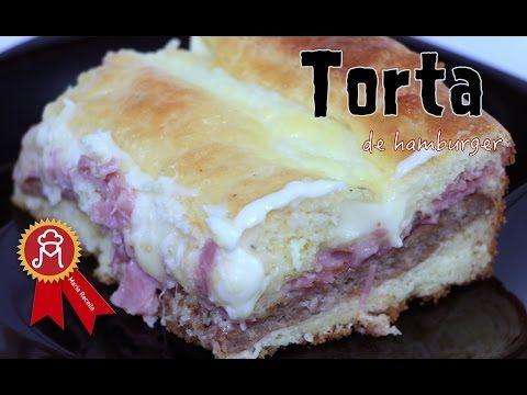 Torta de Hamburger !!!!! Hummmmm - YouTube