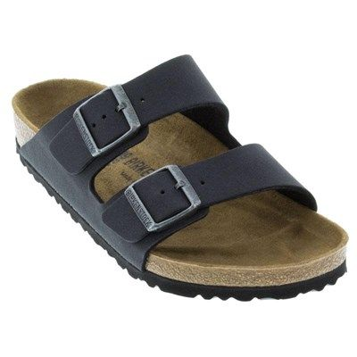 birkenstock arizona vegan anthracite sandals