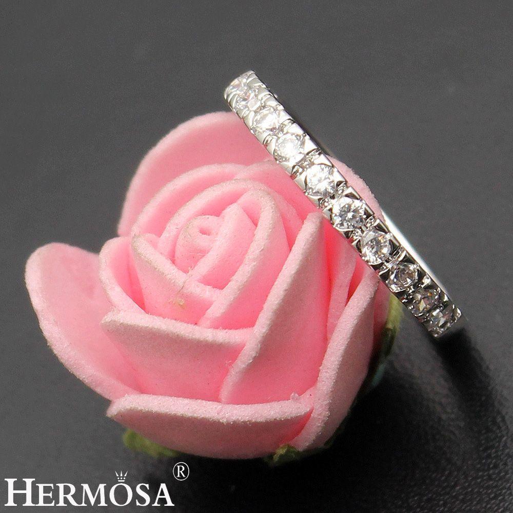 Pretty Women BIG PROMOTION Hermosa Shiny Love Wedding Jewelry White ...