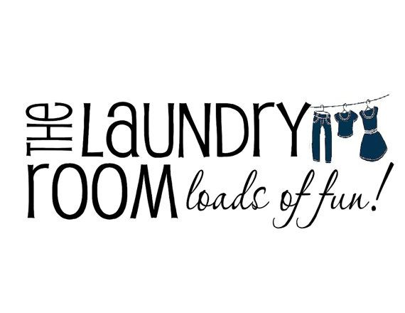 The Laundry Room Loads Of Fun Wood Sign With Vinyl Lettering Vinyl Decal Custom Made On Etsy 16 00 Vinyl Lettering Laundry Room Vinyl Quotes