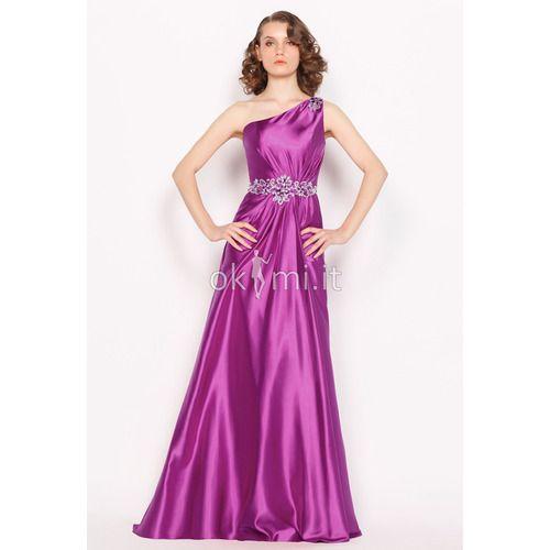 Photo of [103.27€] Elegant Elastic Satin Satin Evening Dress in S …