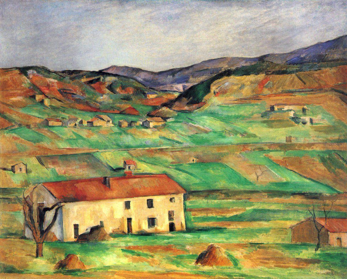 Vincent Van Gogh Vangoghartist Twitter Paul Cezanne Paisajes Pinturas