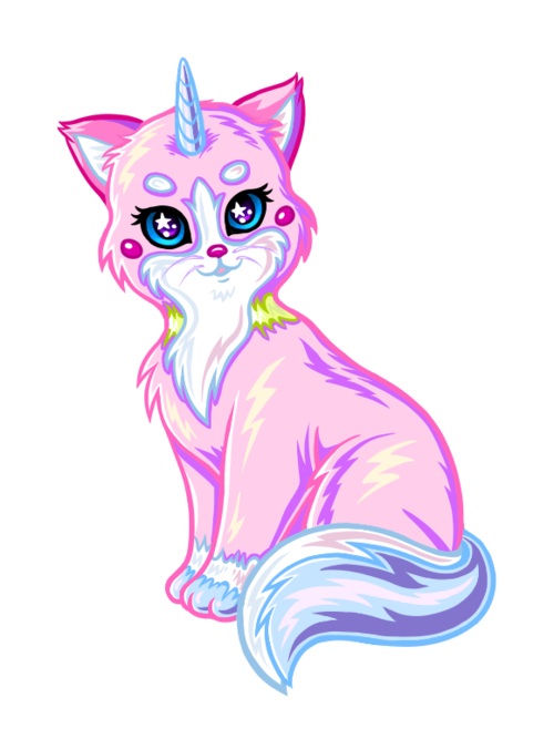 angernon: Princess Unikitty in the style of Lisa Frank :) | rainbow ...
