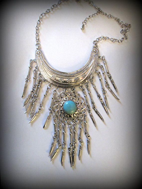 Bohemian jewelryTurkish silver jewelryturquoise by FabJeweLLerYY