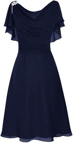 2837181147d4 Dresstells® Scoop Chiffon Backless Prom Dress Evening Dress Evening Party  Dress: Amazon.co.uk: Clothing