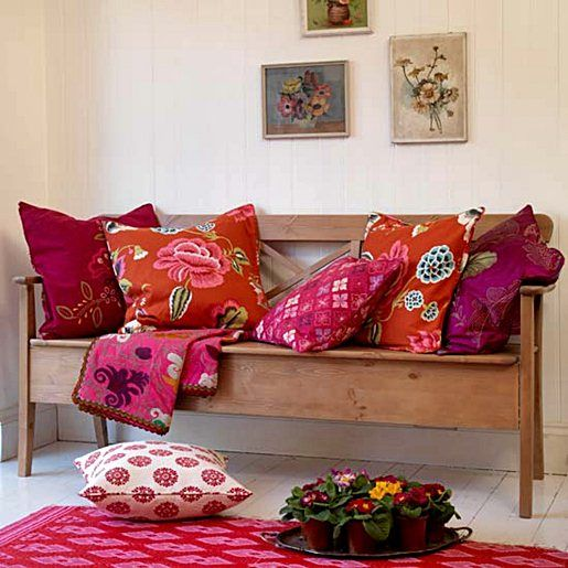 Love This I Need To Not Be So Afraid Of Color Colourful Living Room Living Room Design Decor Colorful Pillows