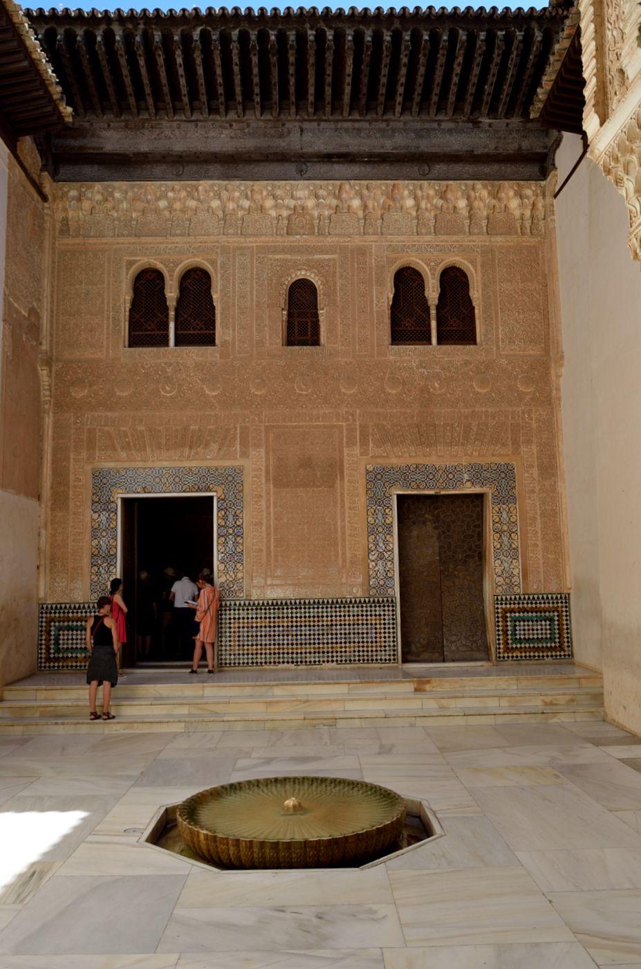 Cuarto Dorado, south facade, Alhambra 1248-1354, Granada, Spain