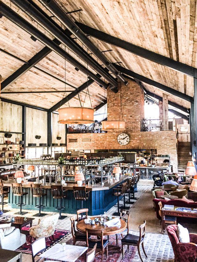the soho farmhouse - Farmhouse Restaurant Ideas