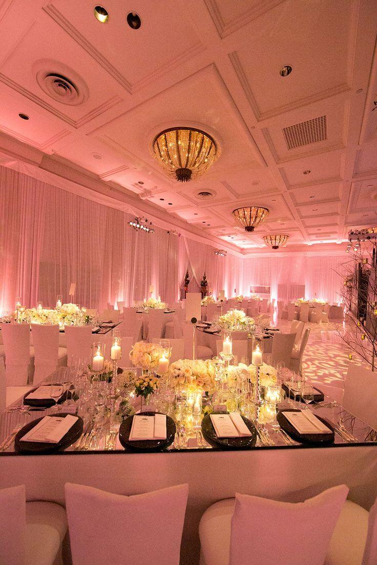 Uplighting Wedding, Wedding Reception