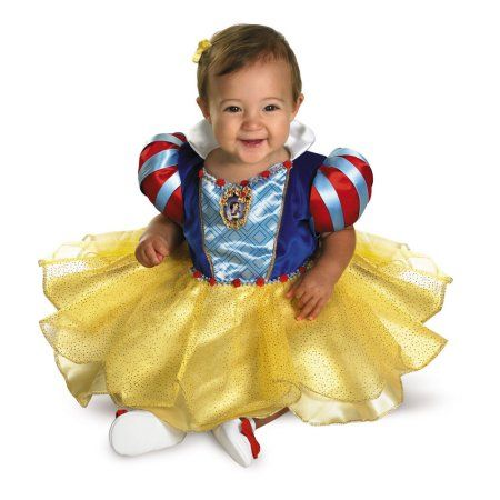 246f6900607b Disney Princess Snow White Dress Baby Girls Costume Infant Childs 12 ...