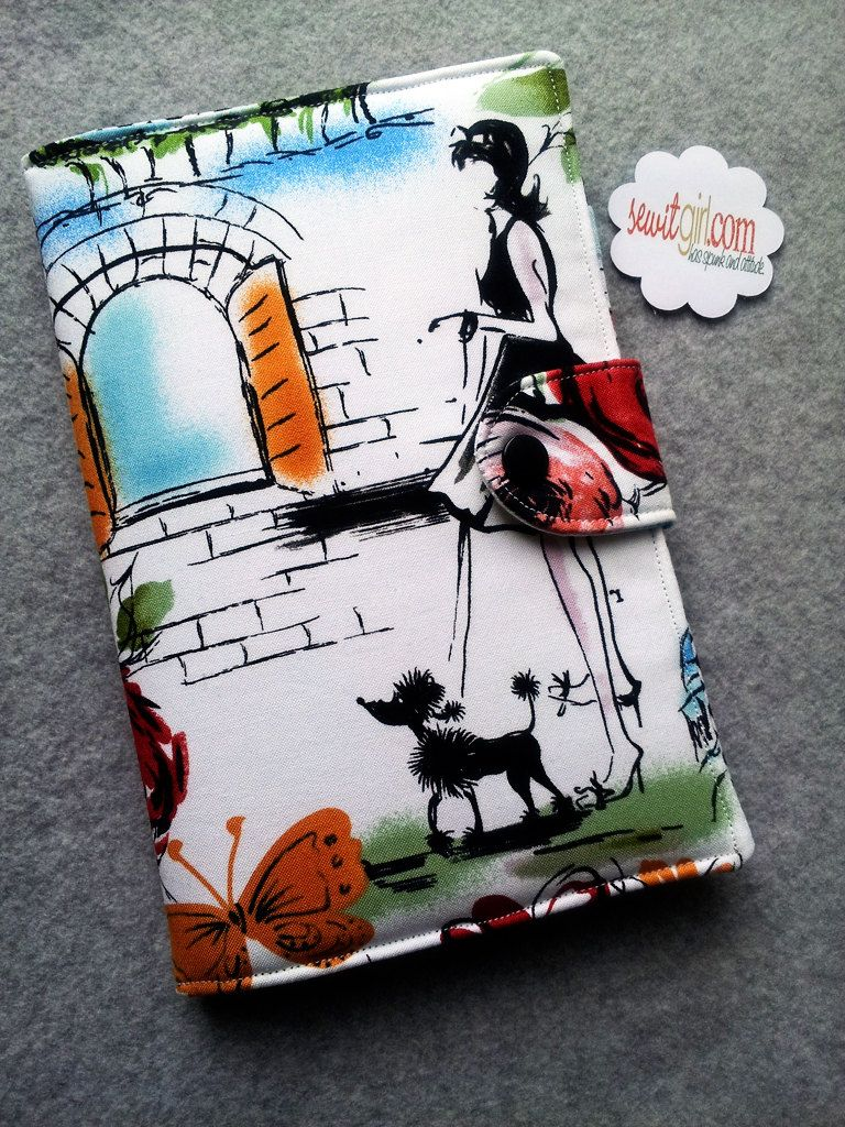 Kindle Fire cover, eReader Cover, Book Style, Paris Style  ..Made to order. $38.00, via Etsy.