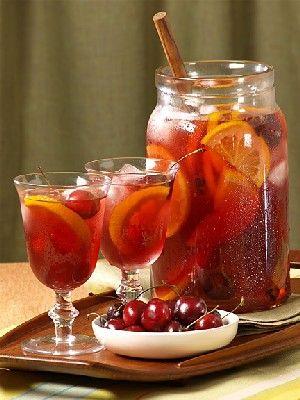 Ricetta Sangria Per 40 Persone.Sangria Idee Alimentari Ricette Ricette Di Cocktail