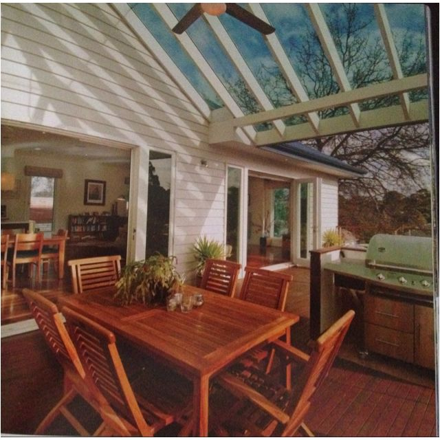 Pergola Designs With Pitched Roof: Pitched Laser Light Roof Outdoor Living