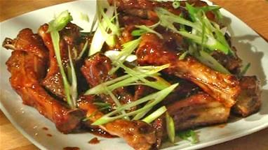 How to make Chinese sticky ribs