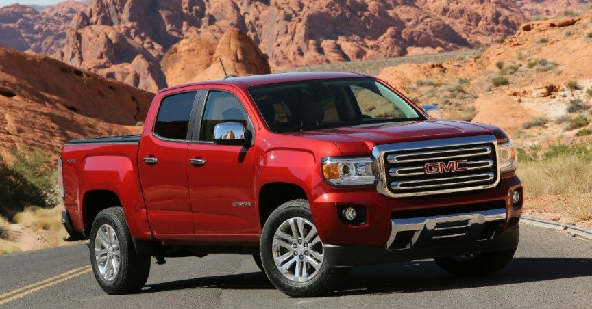 2017 Gmc Canyon Midsized With Full Size Capability Gmc Canyon Canyon Diesel 2016 Gmc Canyon