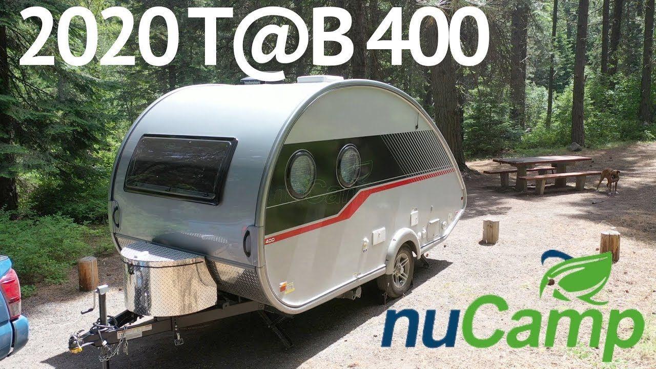 Walkthrough of our 2020 Tab 400 by nuCamp | Tab trailer ...