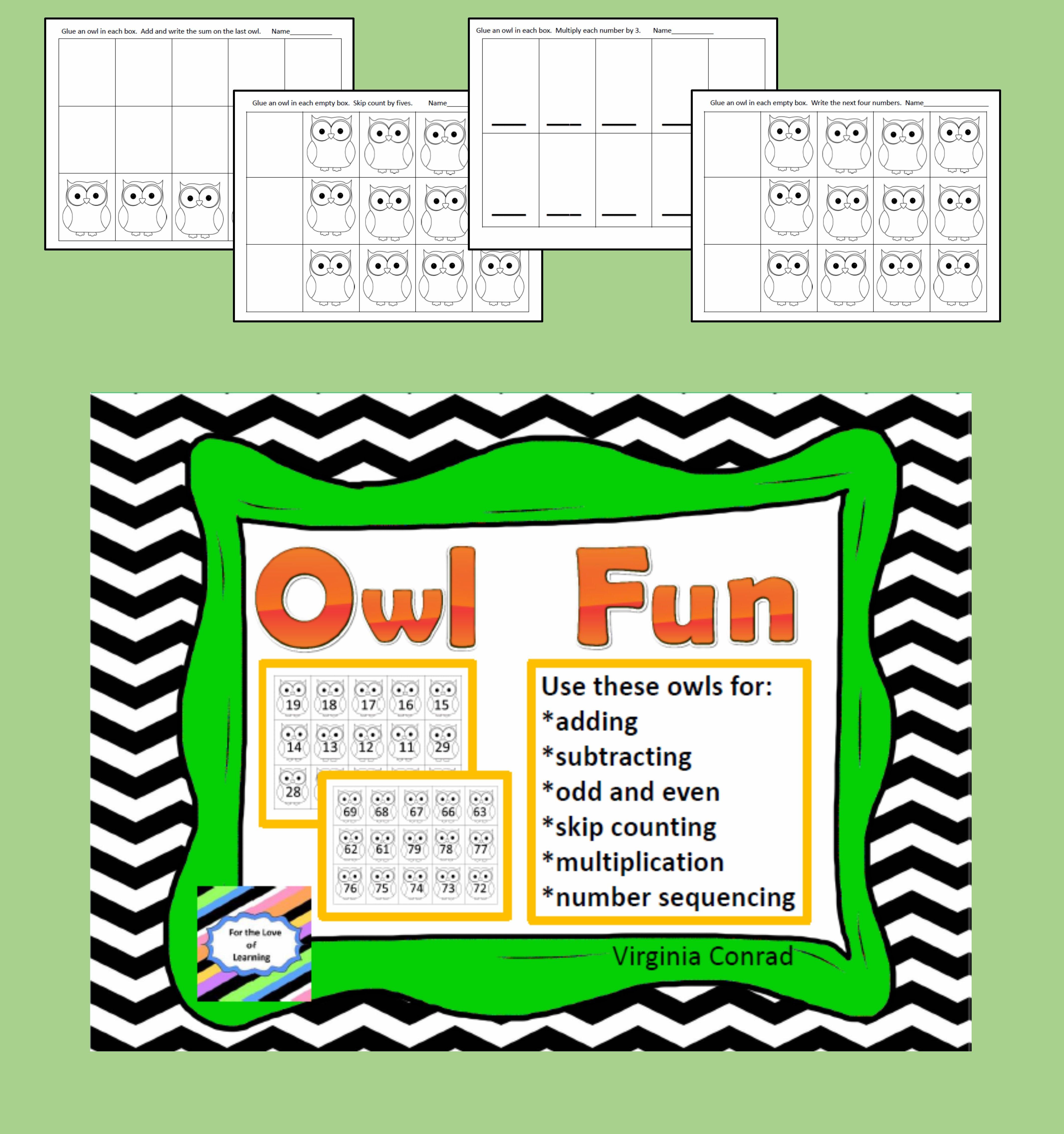 Owl Number Fun