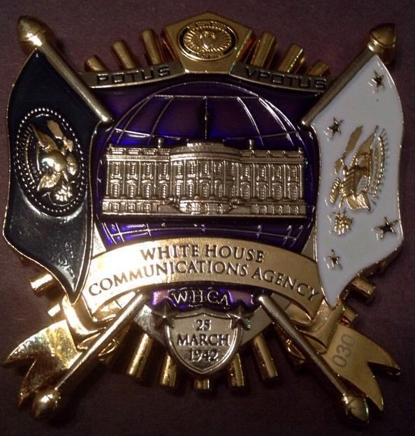 White House Communications Agency Challenge Coin HUGE! FAST SHIPPING