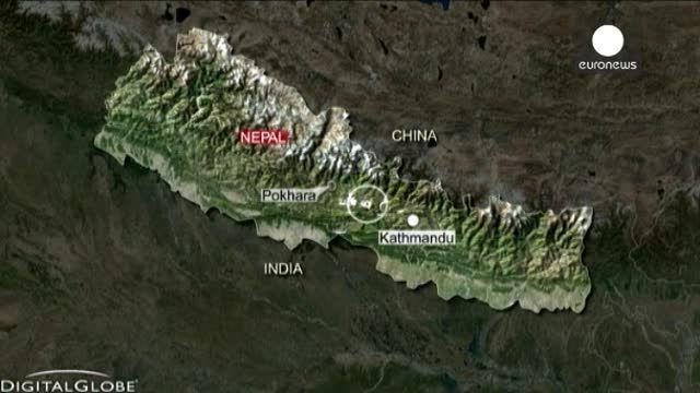 Al menos dos muertos y numerosos heridos en un fuerte terremoto registrado en Nepal