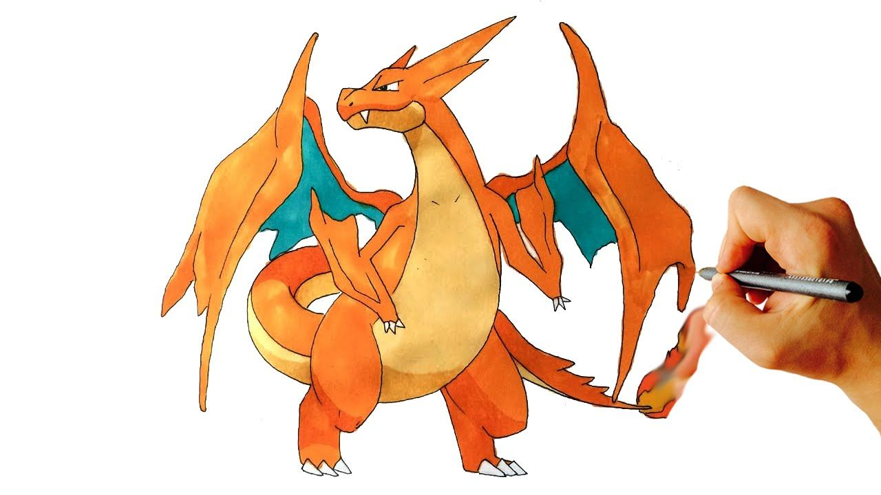 Pictures to draw mega drawing. How charizard y from