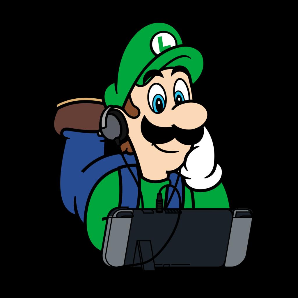 Super Mario X Nintendo Switch Luigi By Studiopep On Deviantart Supermario Luigi Nintendo Fanart Nintendoswitch G Super Mario Art Mario Mario Characters