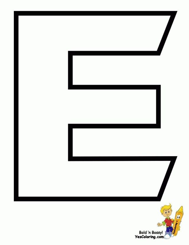 27 Best Image Of Letter E Coloring Page Alphabet Coloring Pages