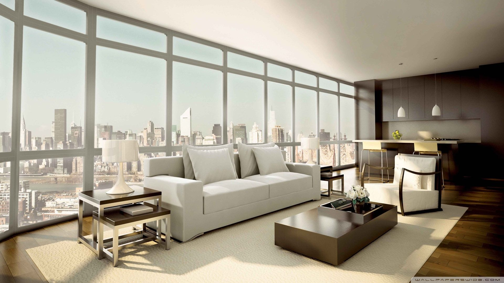 Minimalist Interior Design Is A Fantastic Hd Wallpaper For Your Pc Or Mac And Modern Living Room Interior Wallpaper Interior Design Living Room Design Modern