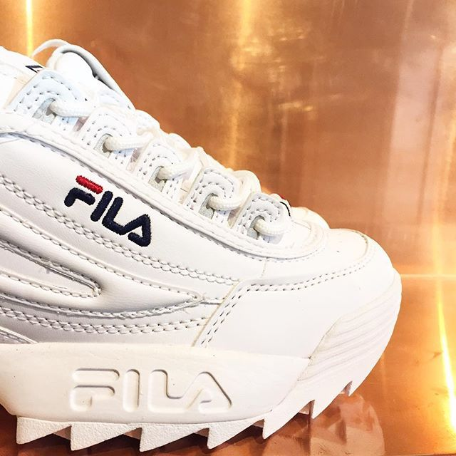 Fila gave us that special special delivery! The restock of these