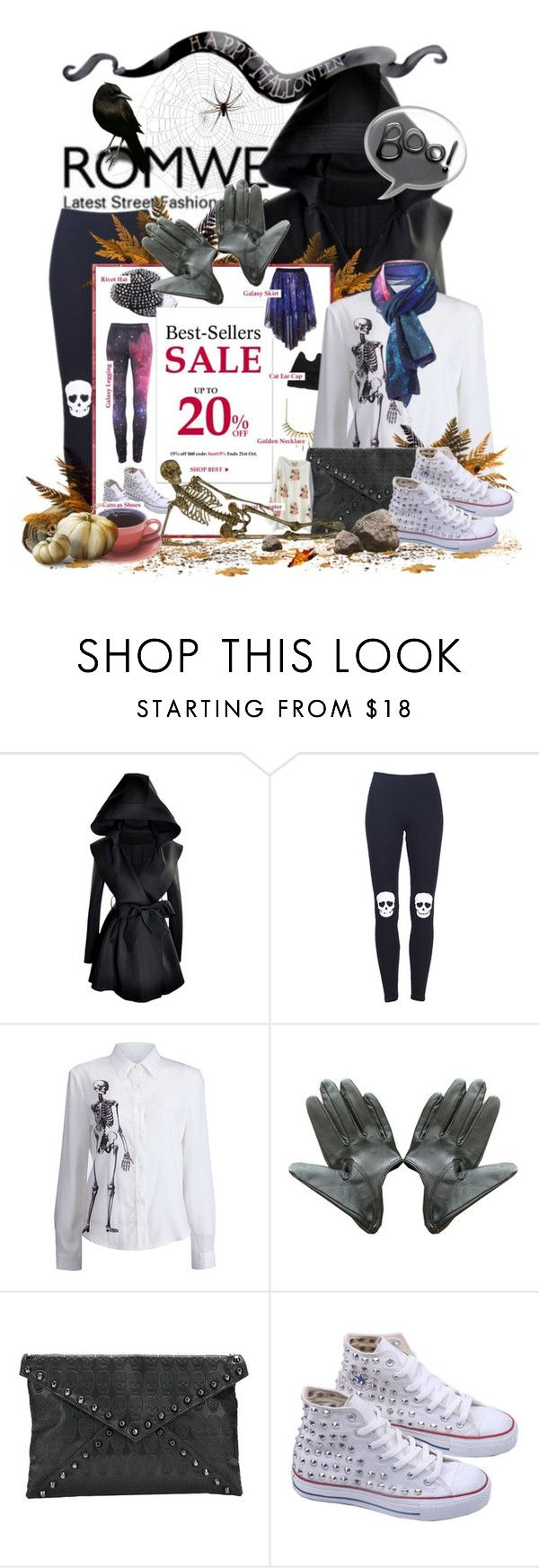 """Best-Sellers Sale..Up to 20%...Hurry Up!!"" by keti-lady ❤ liked on Polyvore featuring white canvas shoes, black, gloves, print scarf, leggings, cluthes, white, 2012, bone print and print shirt"