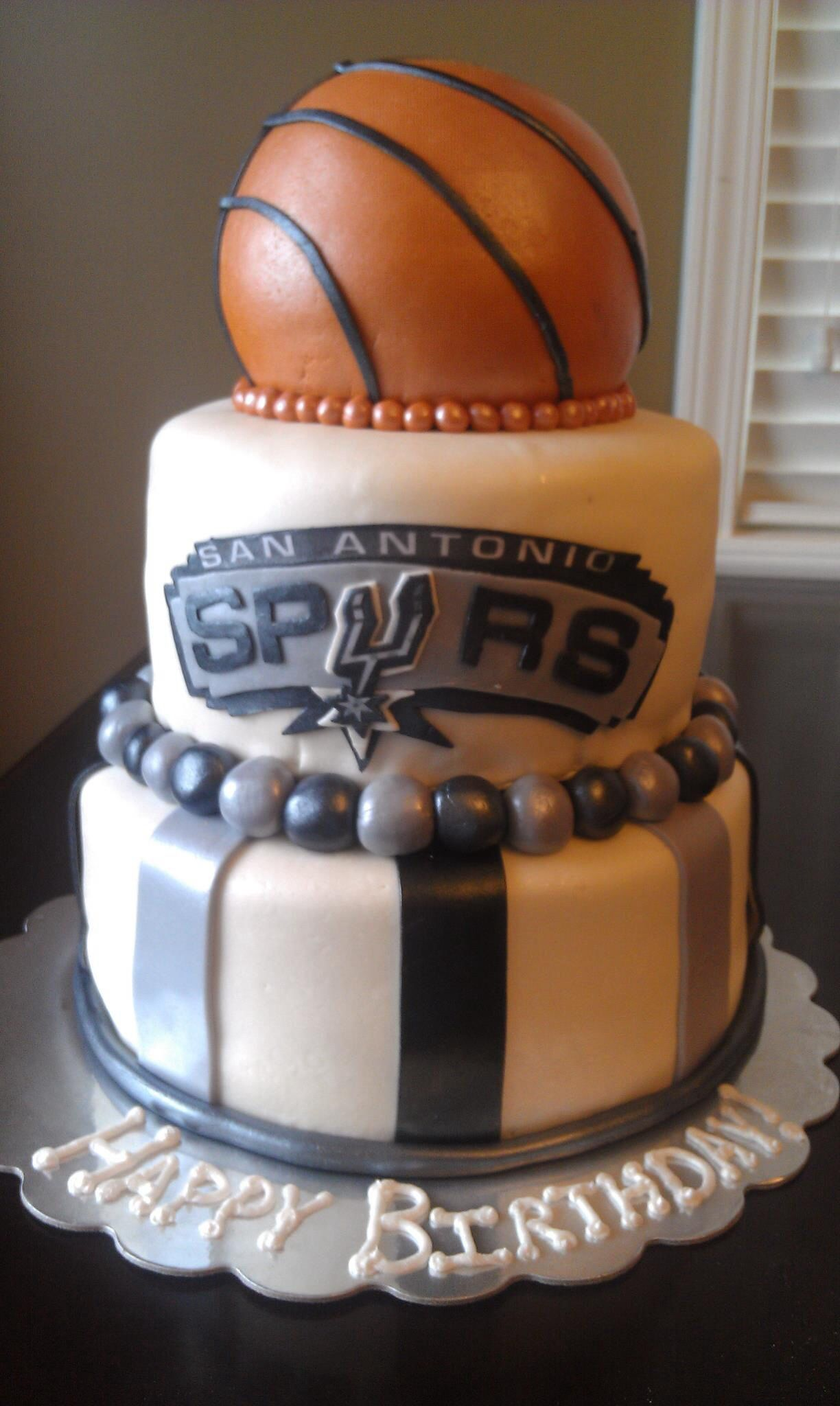 Spurs... by Khristin Cakes Pinterest Cake