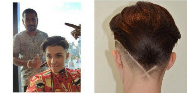 Why Would She Grow Her Hair Oh Ruby Rose Tonsorial Hair - Undercut hairstyle ruby rose