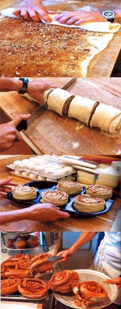 """""""THE best cinnamon rolls. Ever..."""" @Shalome Frye Frye Diggs-Stine, these look as big as your famous ones!"""