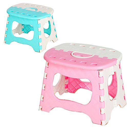 Admirable Kids Bathroom Decor Suyi Foldable Step Stool Heavy Duty Bralicious Painted Fabric Chair Ideas Braliciousco