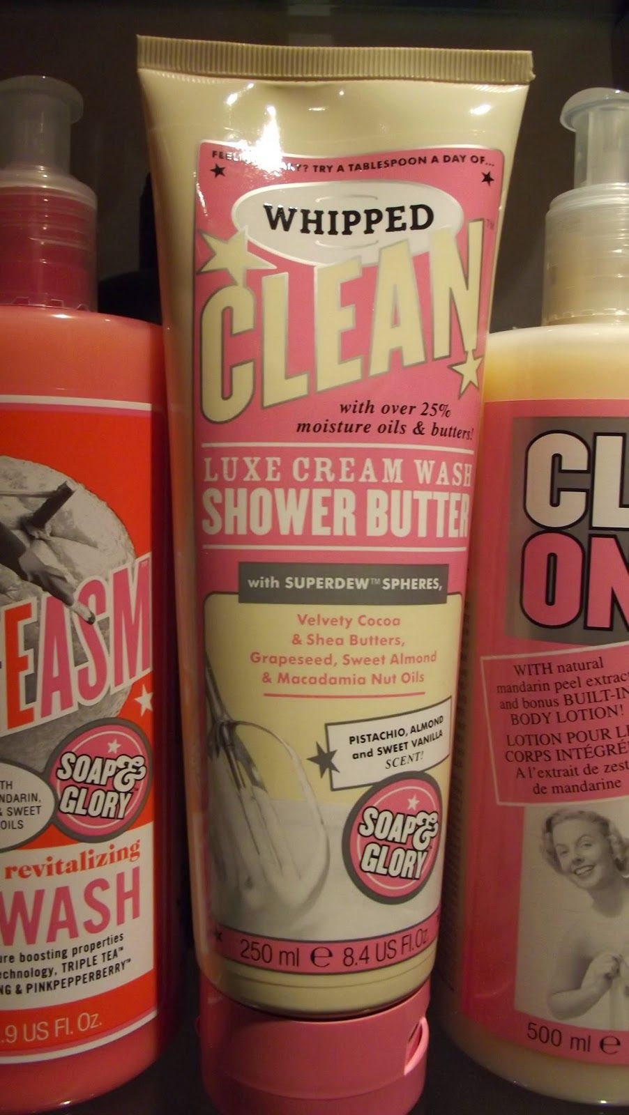 Soap and Glory Whipped Clean Soap and glory, Macadamia