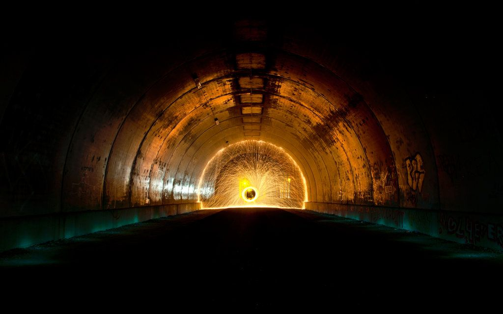 Tunnel Vision By Jelle S Deviantart Com Light Painting