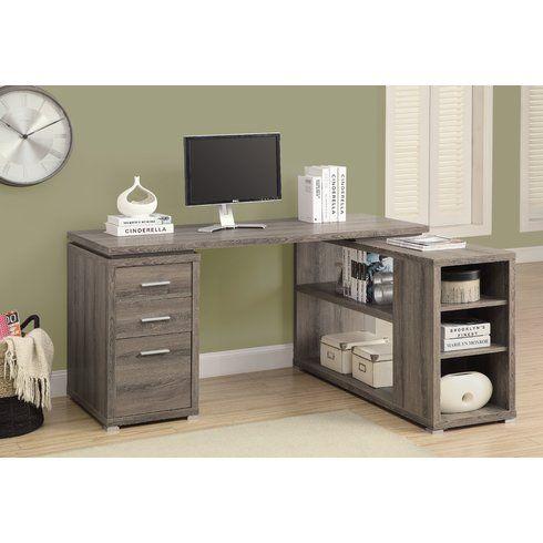 Charisse L Shape Computer Desk Wayfair 370 Full Price