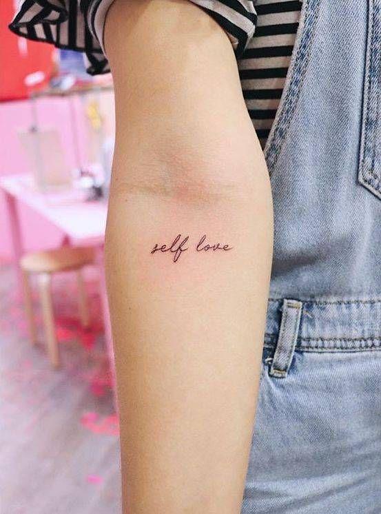 """Self love"""