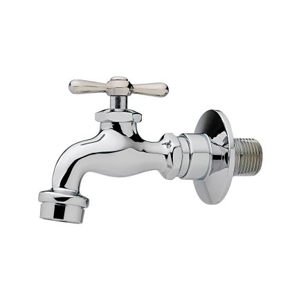 Homewerks 1 2 Male Threaded Wall Faucet 3210 161 Ch B Z Ace
