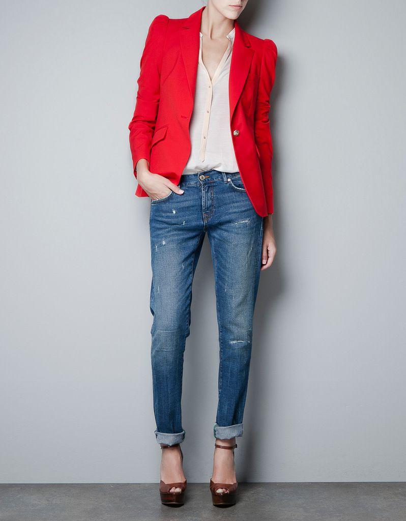 2014 Spring New hot Ladies Shoulder Business Suit Coats Jackets ...